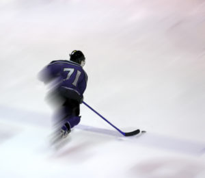 Player skating