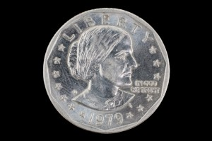 Susan B Anthony dollar USA